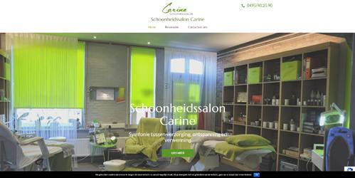 website schoonheidssalon-carine.be