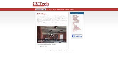 website cv-tech.be
